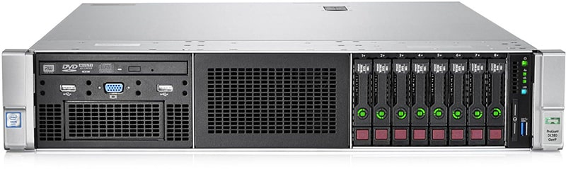 HP ProLiant DL380 Gen9 Intel Xeon 14 core server