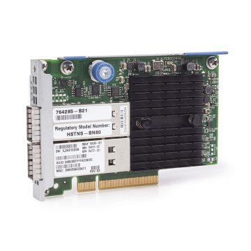 کارت شبکه HP Ethernet 10Gb/40Gb 2-Port 544+FLR QSFP Adapter