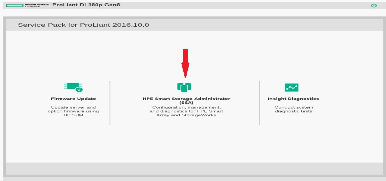 آموزش raid بندی سرور های HP