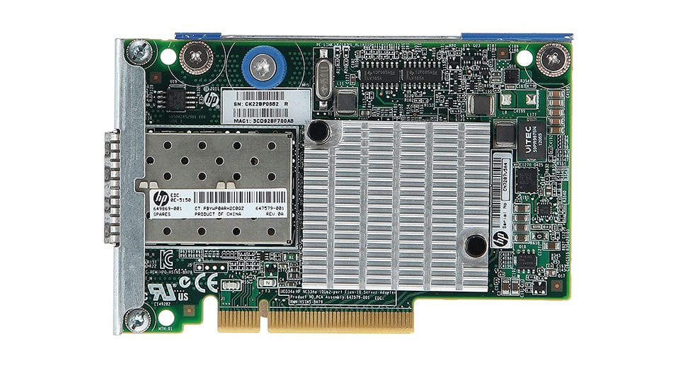 کارت شبکه HPE 10Gb 2-port 530FLR-SFP فیبر نوری