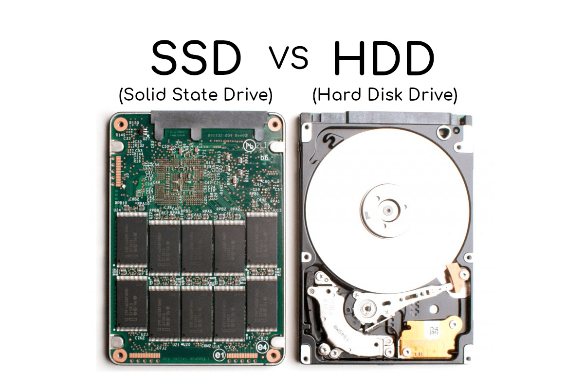 الاختلاف بين محركات الأقراص الصلبة SSD و HDD
