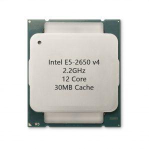 پردازنده سرور Intel Xeon Processor E5-2650 v4