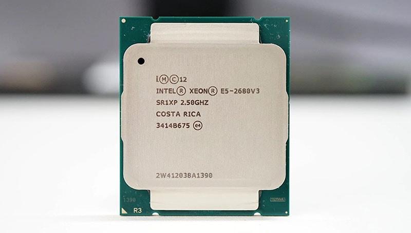 پردازنده سرور Intel Xeon Processor E5-2680 v3