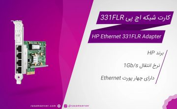 ویدئو کارت شبکه HP Ethernet 1Gb 4-port 331FLR