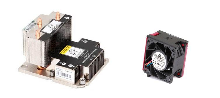 پکیج فن و هیت سینک HPE High Performance DL380 G10