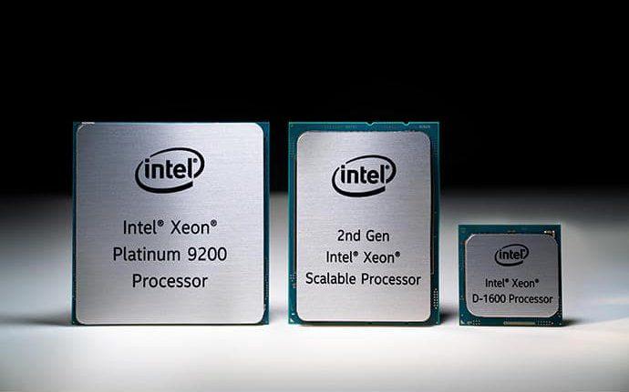 مقایسه پردازنده های Intel Xeon Scalable