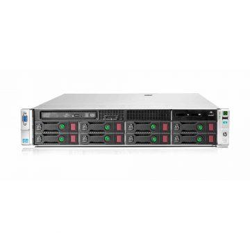 سرور اچ پی HPE ProLiant DL380p Gen8 8SFF با کانفیگ E5-2620v2x2, 16GBx2, 600GBx2, 460Wx2